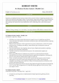 Systems Analyst Resume Example by Business System Analyst Resume Sample Ecordura Com