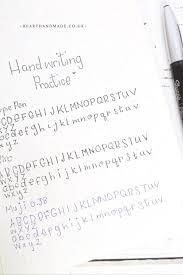 simply improve your handwriting as an decor advisor
