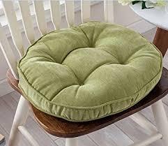 amazon com thicken round seat cushions sofa chair pillow cushion