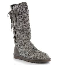 womens ugg knit boots ugg australia s boots casual boots and