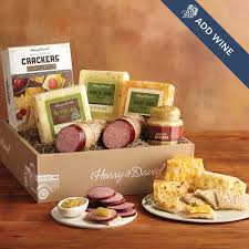 Sausage And Cheese Gift Baskets Sausage Cheese Gift Packages Meat Sausage U0026 Cheese Gift Baskets