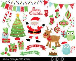 christmas clipart christmas clip art reindeer festive