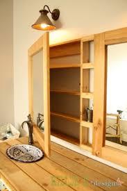 Wood Bathroom Medicine Cabinets With Mirrors by Best 25 Medicine Cabinet Redo Ideas On Pinterest Medicine