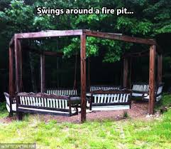 Swing Fire Pit by Swing Paradise The Meta Picture
