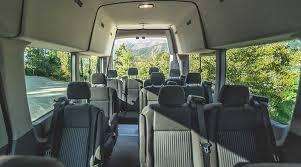 Ford Van Interior Ford Transit Denver Airport Ski Shuttle Summit Express