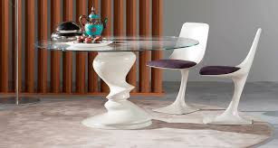 Dining Table Design With Round Glass Top Furniture Cool Roche Bobois Astrolab Extendable Dining Table With