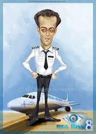 caricature salman khan bollywood actor and bigg boss 8 host