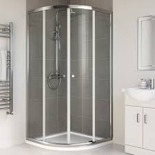 900 x 900mm quadrant corner shower enclosure space saving bathroom