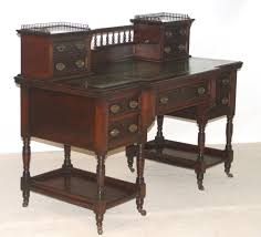 Mahogany Office Desk Office Desk Desk Ergonomic Computer Desk Contemporary Desk Home