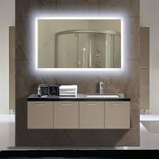 Mirror With Lights Around It Bathroom Cabinets Lighted Wall Mirror Lighted Bathroom Vanity
