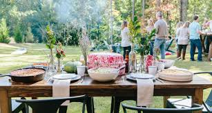 how to throw an outdoor thanksgiving the table southern kitchen