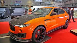 custom maserati interior maserati levante mansory driving u0026 sound youtube