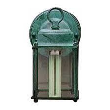 verde green outdoor wall light shop volume international 8 in h verde green outdoor wall light at