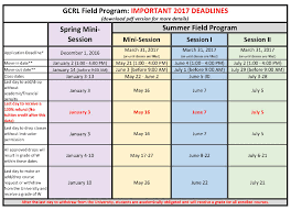 Swosu Campus Map Gcrl 2017 Summer Field Program Details