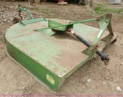john deere 407 gyramor rotary mower item x9591 sold may