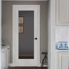 Home Depot Interior Doors Wood by Reliabilt Full Lite Frosted Pine Slab Interior Door Common 24 In