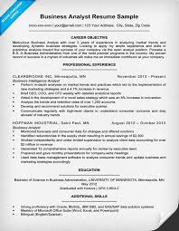 exle of business analyst resume business analyst resume sle writing tips resume companion