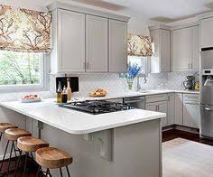 U Shaped Kitchen Designs A Builder Grade Home Makeover With Big Personality White Quartz