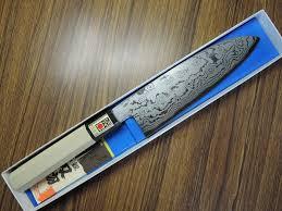 fs sakai ichimonji kichikuni 180mm blue 2 damascus wa santoku