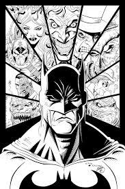batman villains ink swave18 deviantart