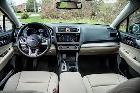 subaru legacy interior 2016 midsize madness 2015 mazda6 accord sonata camry legacy comparison