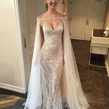wedding evening dress dignified sheath wedding evening dress beaded mermaid sweep