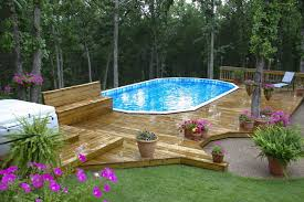 how to build decks around above ground pools home decor inspirations