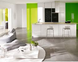 peinture verte cuisine cuisine indogate idees modernes de cuisine vert idée peinture
