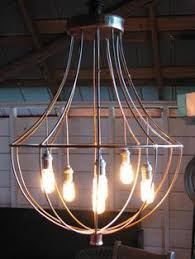 industrial chandelier westelm 249 this could be cool over the