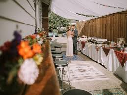 backyard wedding venues spends 5 months creating their own diy whimsical backyard