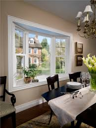 agreeable bay window dining room on the bay window dining nook