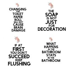 Bathroom Sign Language Best 25 Funny Bathroom Decor Ideas On Pinterest Bathroom Signs