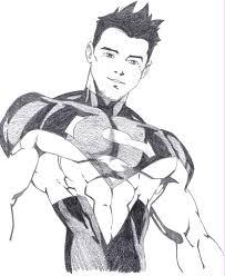 superboy sketch by north star divide on deviantart