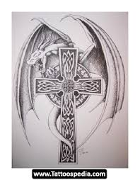 modern cross tattoos 10