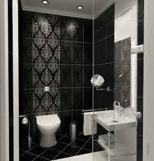 bathrooms design small bathroom black and white tile design