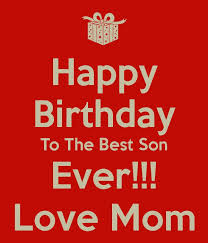 birthday card sayings for son best son birthday quotes ideas on