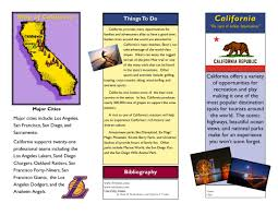 zoo brochure template travel brochure exles for students theveliger
