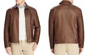 Leather Barn Coat Men U0027s Designer Jackets U0026 Winter Coats Bloomingdale U0027s