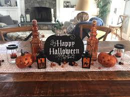 halloween decor kitchen island table or buffet signage