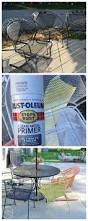 Outdoor Patio Furniture Paint by Best 25 Metal Patio Furniture Ideas On Pinterest Rustic Outdoor