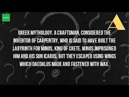 what is the meaning of daedalus
