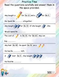 gallery 1st grade word problems best games resource