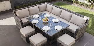 moda furnishings antigua corner dining set modern patio gray patio