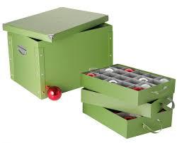 corrugated cardboard ornament storage box