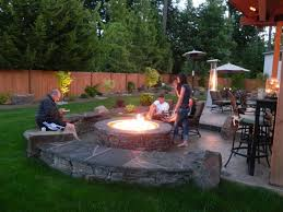 Patio Backyard Design Ideas Front Yard Garden Design With Outdoor Pit Patio Backyard