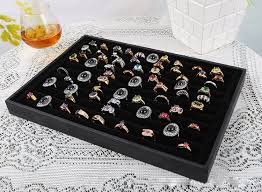 jewellery box rings images Ring display velvet rings box jewelry display case jewellery box jpg