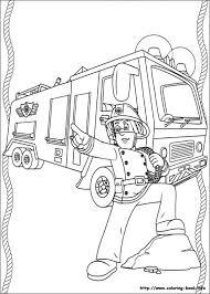 fireman coloring book asoboo