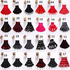 christmas skirt 2018 christmas kids mini skirt knitting midi pleated umbrella