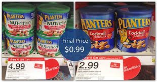Planters Cocktail Peanuts by Planters Peanuts Only 0 99 At Target