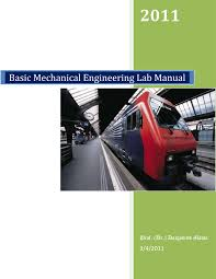 basic mechanical engineering lab manual pdf download available